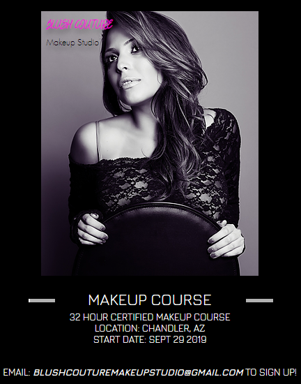 Master Makeup Course September 29th, October 13th, October 27th, October 28th